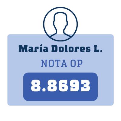 Nota María Dolores L.