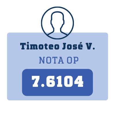 Nota Timoteo José V.