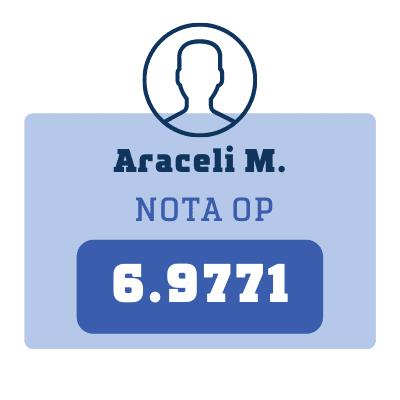 Nota Araceli M.