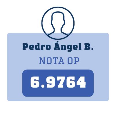 Nota Pedro Ángel B.