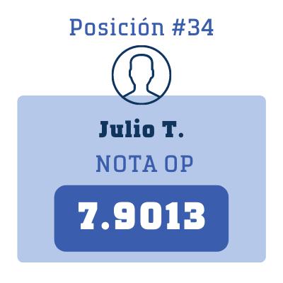 Nota Julio T.
