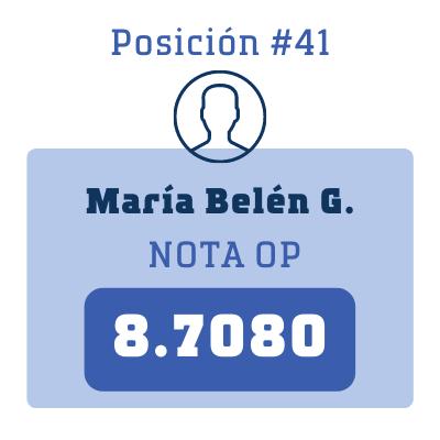 Nota María Belén G.