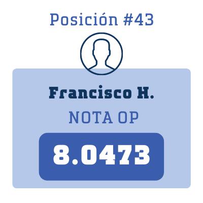Nota Francisco H.
