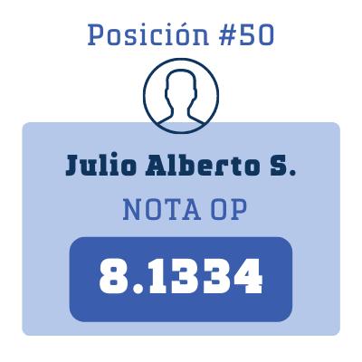 Nota Julio Alberto S.