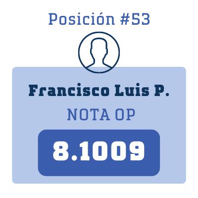 Nota Francisco Luis P.