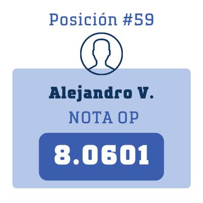 Nota Alejandro V.