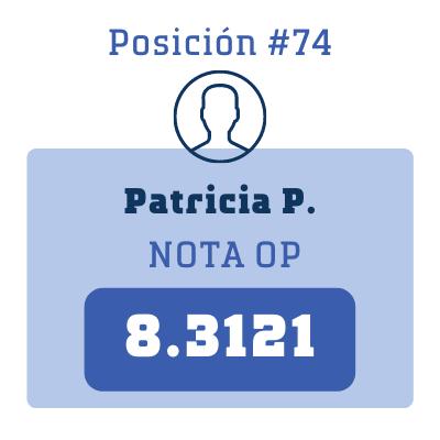 Nota Patricia P.