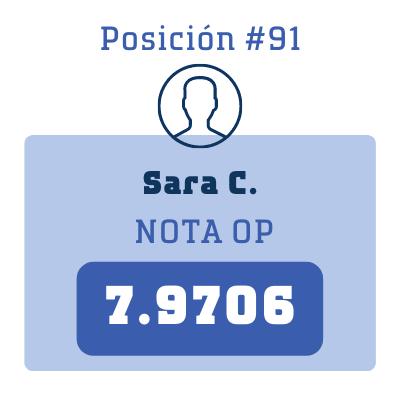 Nota Sara C.