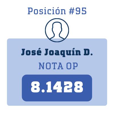 Nota José Joaquín D.
