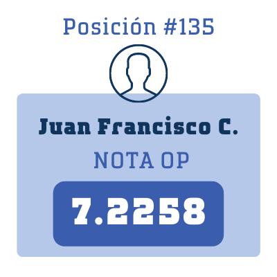 Nota Juan Francisco C.