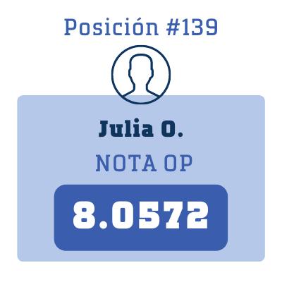 Nota Julia O.