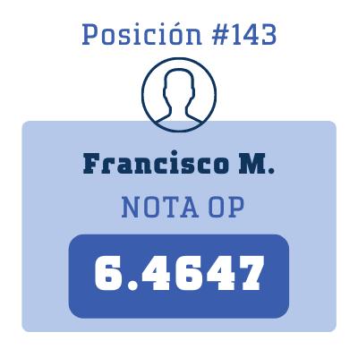 Nota Francisco M.