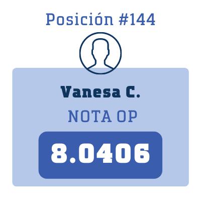 Nota Vanesa C.