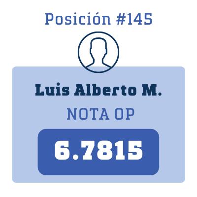 Nota Luis Alberto M.