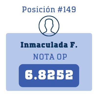 Nota Inmaculada F.