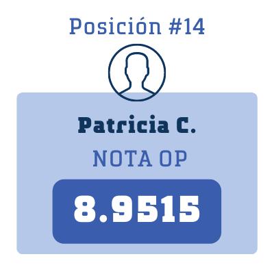 Nota Patricia C.