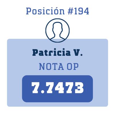 Nota Patricia V.
