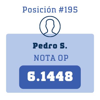 Nota Pedro S.