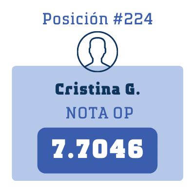 Nota Cristina G.