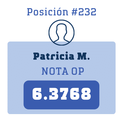 Nota Patricia M.