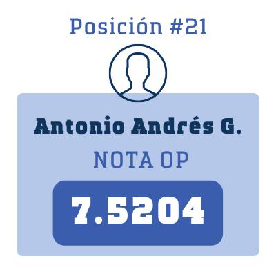 Nota Antonio Andrés G.