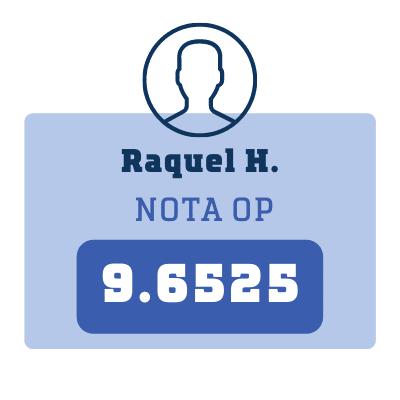 Nota Raquel H