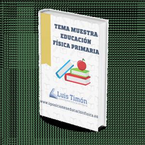 Tema muestra educacion fisica Luis timon